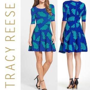 NWT Tracy Reese Raji Leaves Sweater Dress